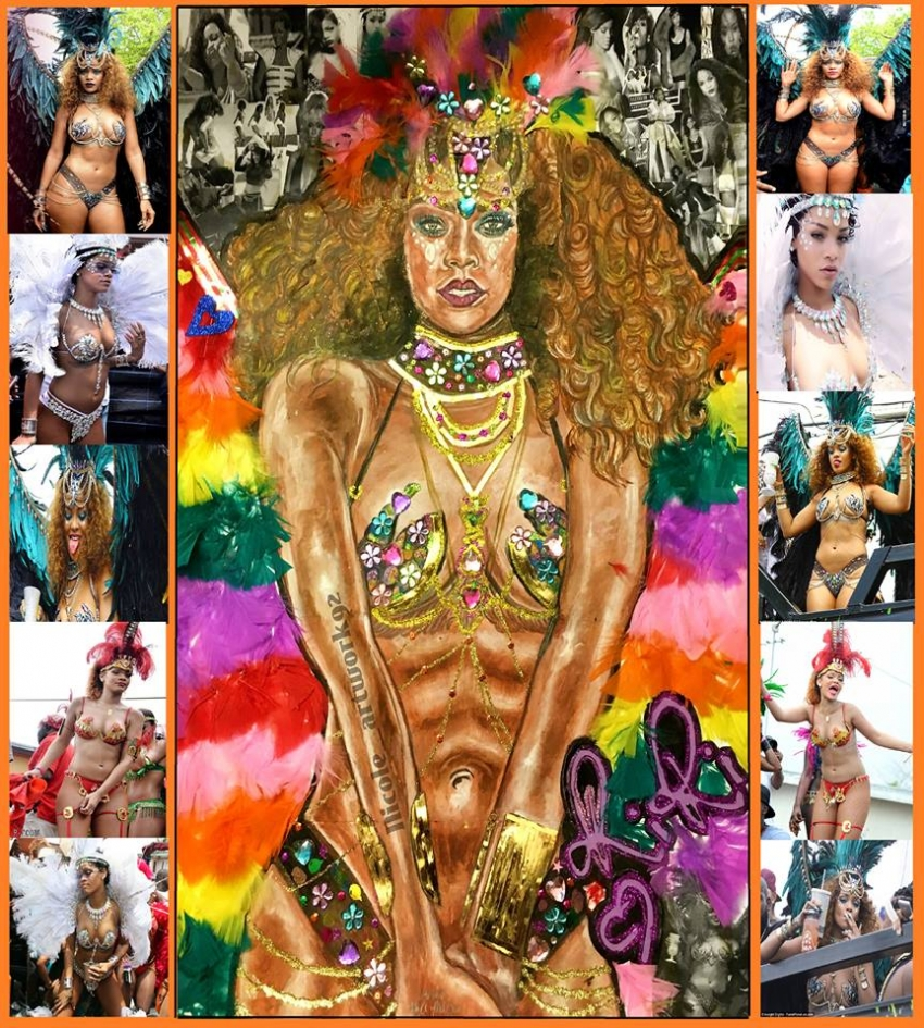 Rihanna por NicoleBoo
